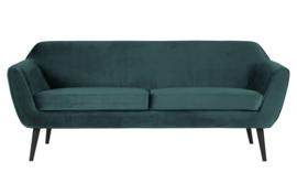 340451-198 | Rocco sofa 187 cm fluweel teal | WOOOD