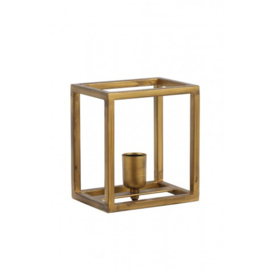 3118385 | Wandlamp MARLEY antiek goud - 18x13x20 cm | Light & Living