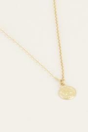 Ketting klein muntje - goud | My Jewellery