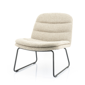 210035 | Lounge chair Bermo - beige | By-Boo