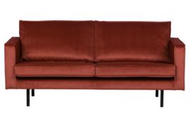 800542-205 | Rodeo bank 3-zits velvet chestnut | BePureHome