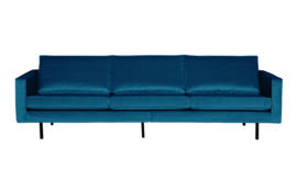800543-45 | Rodeo bank 3-zits velvet blue | BePureHome