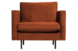 800888-126   Rodeo classic fauteuil velvet roest   BePureHome