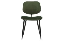 373306-G | Jackie eetkamerstoel fluweel groen - set van 2 | WOOOD Exclusive