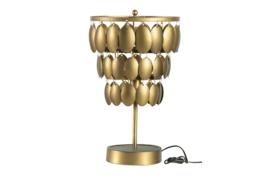 800234-A | Moondust tafellamp metaal antique brass | BePureHome