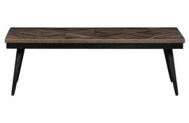 800034-N | Rhombic salontafel 120x60cm hout/metaal | BePureHome