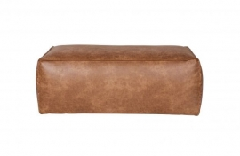 378610-B | Rodeo Poef 43 x 120 cm Cognac, Eco Leather | BePureHome