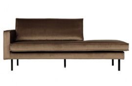 800743-12 | Rodeo daybed left velvet taupe | BePureHome