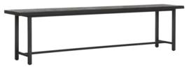 BT 438193 | Timeless Black eetkamerbank Beam - 190 cm | DTP Home