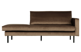 800746-12 | Rodeo daybed right velvet taupe | BePureHome