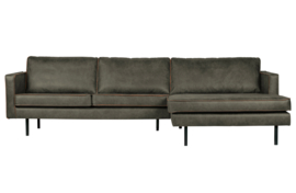800902-A | rodeo chaise longue rechts army | BePureHome