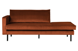 800743-126 | Rodeo daybed left velvet roest | BePureHome