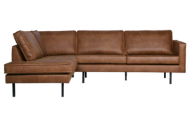 800972-B | Rodeo hoekbank links cognac | BePureHome