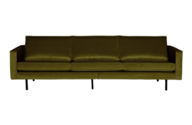 800543-53 | Rodeo bank 3-zits velvet olive | BePureHome