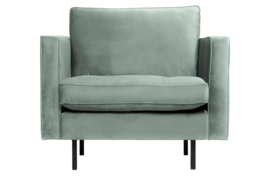 800888-144 | Rodeo classic fauteuil velvet mint | BePureHome