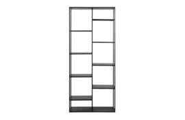 373642-Z | June metalen rek zwart 85cm | WOOOD Exclusive