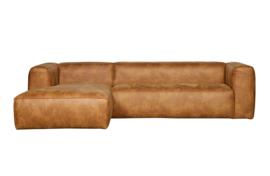 375689-C | Bean hoekbank links - cognac | WOOOD