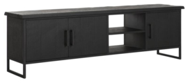 BT 438095 | Timeless Black TV meubel Beam No.2 medium - 180 cm | DTP Home