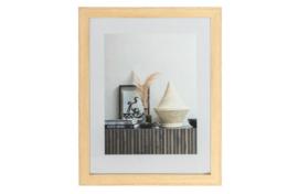 377094-N | Blake fotolijst met houten rand naturel 50x40 | WOOOD Exclusive
