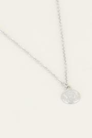 Ketting klein muntje - goud/zilver | My Jewellery