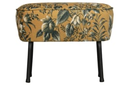 800218-40 | Vogue hocker fluweel poppy mosterd | BePureHome