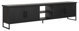 BT 438096 | Timeless Black TV meubel Beam No.2 large - 220 cm | DTP Home
