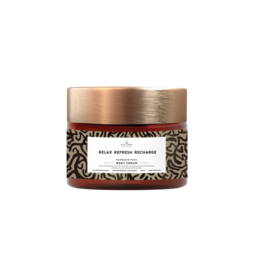 1012805   Body cream - Relax refresh recharge   The Gift Label