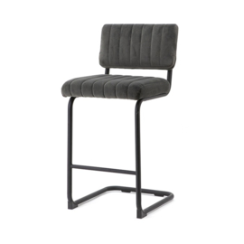190900 | Bar chair low Operator - grey | By-Boo