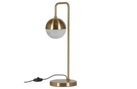 801028-A | Globular tafellamp metaal antique brass | BePureHome