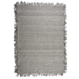 210055 | Carpet Woolie 160x230 cm - taupe | By-Boo