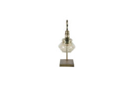 800621-B | Obvious tafellamp antique brass | BePureHome
