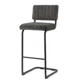 190910 | Bar chair high Operator - grey | By-Boo