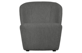375153-HOS | Lofty fauteuil bouclé staalgrijs | VTWONEN