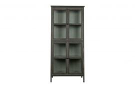800572-Z | Herritage houten kast schuin zwart | BePureHome