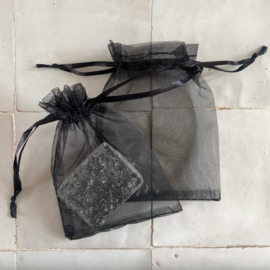 Organza zakje voor geurblokjes - Zwart | ByBazz