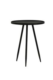 6720314 | Bijzettafel Ø39,5x50,5 cm ENVIRA zink | Light & Living