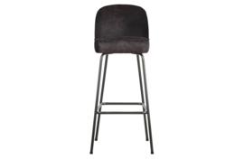 800293-01 | Vogue barstoel 80cm leer zwart | BePureHome