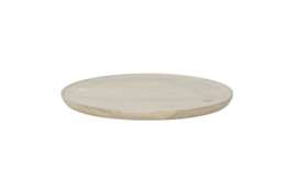 800857-W | Discus dienblad M hout white wash | BePureHome