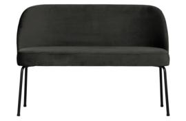 800086-Z | Vogue eetbank fluweel zwart | BePureHome