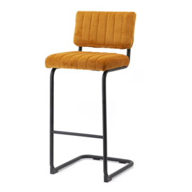 190913 | Bar chair high Operator - ochre | By-Boo