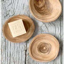 Schaaltje hout S   ByBazz