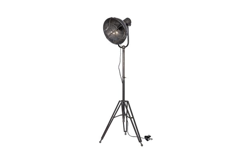 800468 | Spotlight staande vloerlamp metaal | BePureHome