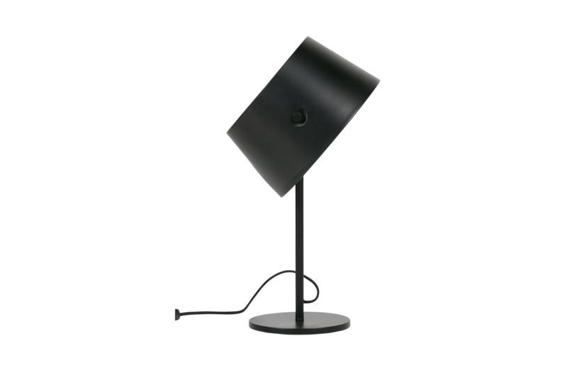 373735 Z   Pien tafellamp metaal zwart   WOOOD Exclusive