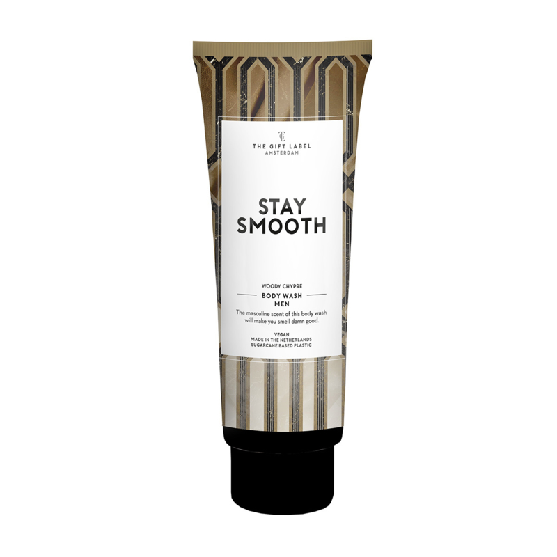 1044204   Douchegel tube 200ml - Stay smooth - heren   The Gift Label