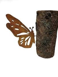 Schroef vlinder voor in de boom