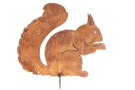 Zittende eekhoorn 24 x 20 cm