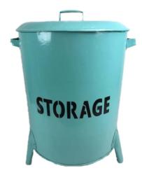Emmer/Storage Blauw XL (60x40 cm)