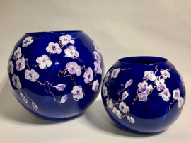 Blossom Blauw Bolvaas Medium
