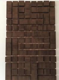 Wanddekoration Tetris