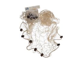 Visnet `120 x 150 cm met kurk